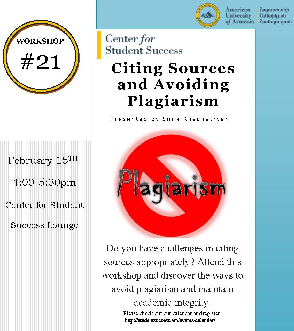 avoiding plagiarism by citing sources 411 chapel drive durham, nc 27708 (919) 660-5870 perkins library service desk.