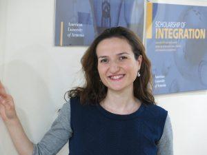 Anna Aghlamazyan - AUA Writing Consultant