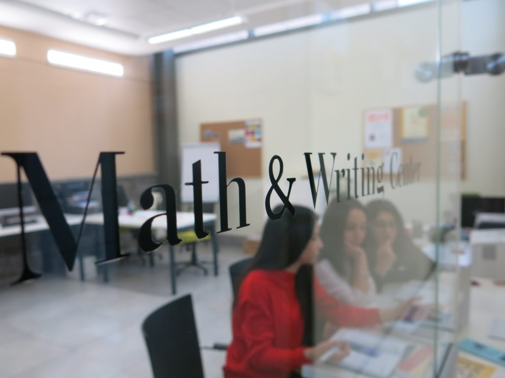 AUA's Math and Writing Center